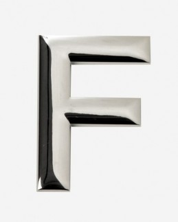 EMBLEME CHROME F -FDS