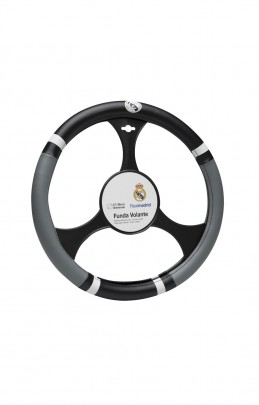 COUVRE VOLANT PVC REAL MADRID -FDS