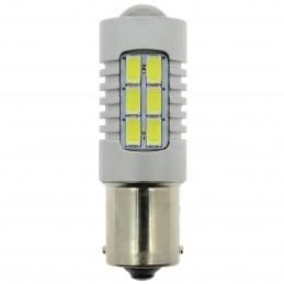 AMP.LED S600 12/24V P21W BA15S 1PLOT CANBUS - 6500K BLANC PURE - 1PC