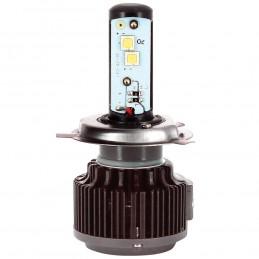 KIT DE CONVERSION LED H4 P43T - 6000K BLANC PURE - 2PCS
