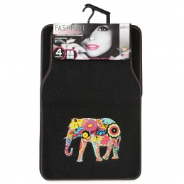 TAPIS MOQUETTE INDIAN ELEPHANT