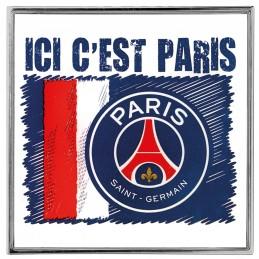 P6791-EMBLEME COLLECTION PSG ICI C'EST PARIS FAN - FDS